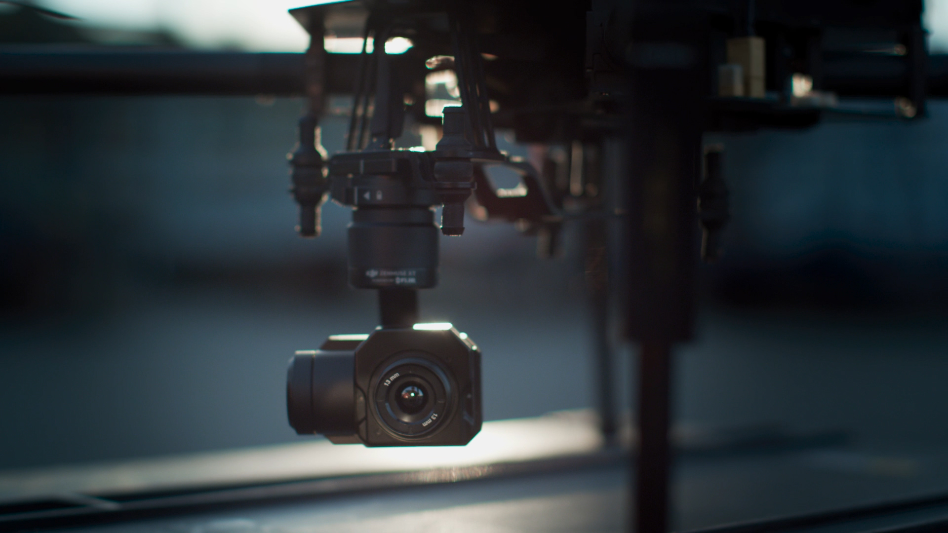 Zenmuse XT on drone close-up